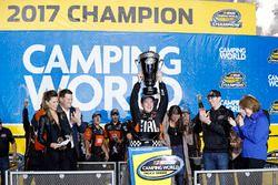 NASCAR Truck-Champion 2017: Christopher Bell, Kyle Busch Motorsports Toyota