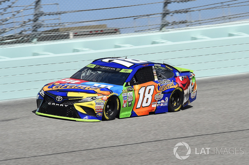 2. Kyle Busch (Gibbs-Toyota): P2 im Rennen