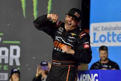 Johnny Sauter, GMS Racing, Chevrolet Silverado ISM Connect, wins at Charlotte