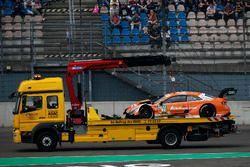 Jamie Green, Audi Sport Team Rosberg, Audi RS 5 DTM después del choque