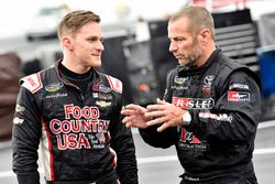 Parker Kligerman, Henderson Motorsports, Chevrolet Silverado Food Country USA and Bo Le Mastus, DGR-Crosley, Toyota Tundra Crosley Brands