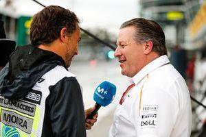 Zak Brown, directeur exécutif de McLaren Technology Group, en interview