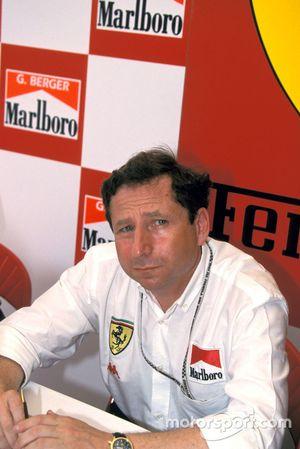 Jean Todt, Ferrari-Teamchef