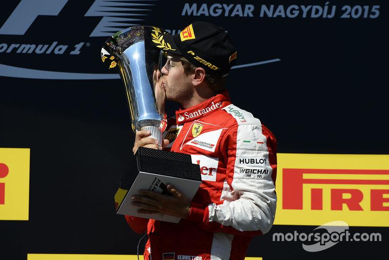 Hungría 2015: segunda victoria con Ferrari.