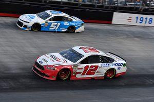 Ryan Blaney, Team Penske, Ford Fusion REV and Reed Sorenson, Rick Ware Racing, Chevrolet Camaro Trading View