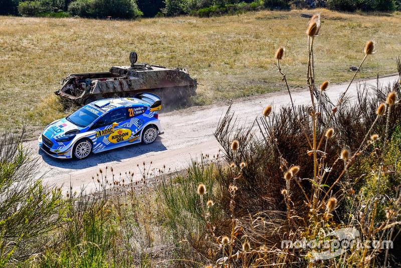 Jourdan Serderidis, Frédéric Miclotte, Ford Fiesta WRC