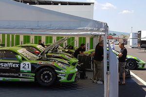 Le Porsche 911 GT3 Cup del team Dinamic Motorsport