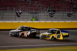 Todd Gilliland, Kyle Busch Motorsports, Toyota Tundra JBL/SiriusXM and Grant Enfinger, ThorSport Racing, Ford F-150
