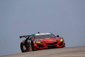 #93 Michael Shank Racing with Curb-Agajanian Acura NSX, GTD - Lawson Aschenbach, Justin Marks
