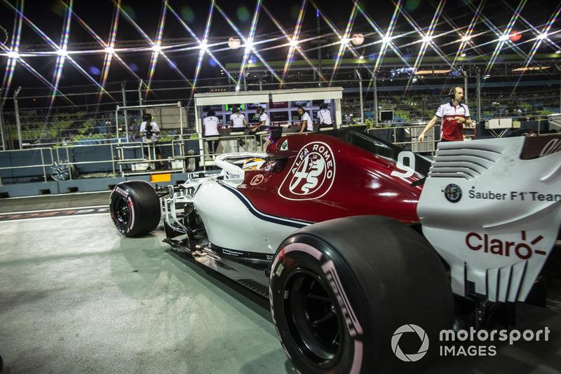 14: Marcus Ericsson, Sauber C37, 1'39.453