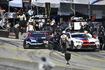 #24 BMW Team RLL BMW M8 GTLM: John Edwards, Jesse Krohn, #25 BMW Team RLL BMW M8, GTLM: Alexander Sims, Connor de Phillippi
