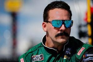 Ryan Truex, Kaulig Racing, Chevrolet Camaro LeafFilter Gutter Protection Throwback crew member