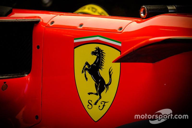 Ferrari SF71H, logo detail
