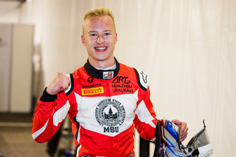 Pole sitter Nikita Mazepin, ART Grand Prix