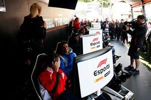 Lando Norris, Carlin And Louis Deletraz, Charouz Racing System