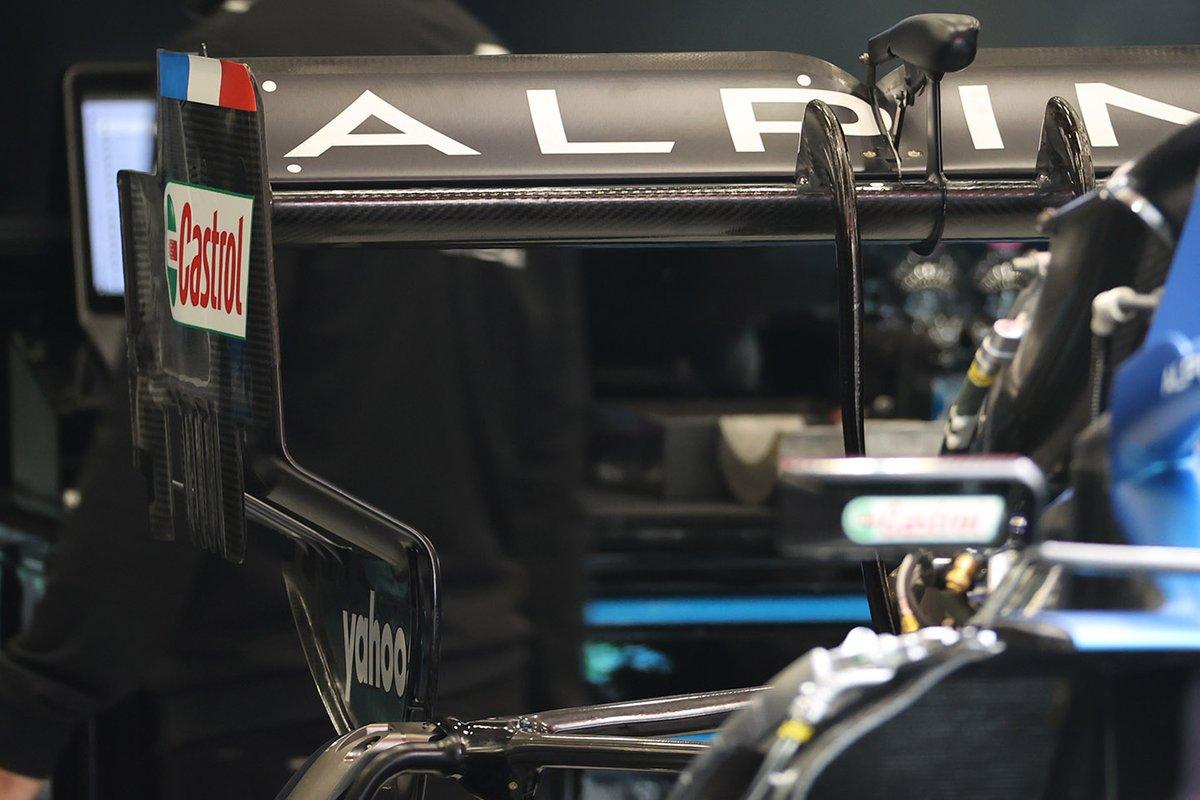 Alpine A521: Heckflügel