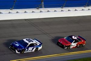 Landon Cassill, Gaunt Brothers Racing, Toyota Camry Carnomaly, Ryan Newman, Roush Fenway Racing, Ford Mustang Coca Cola Zero Sugar
