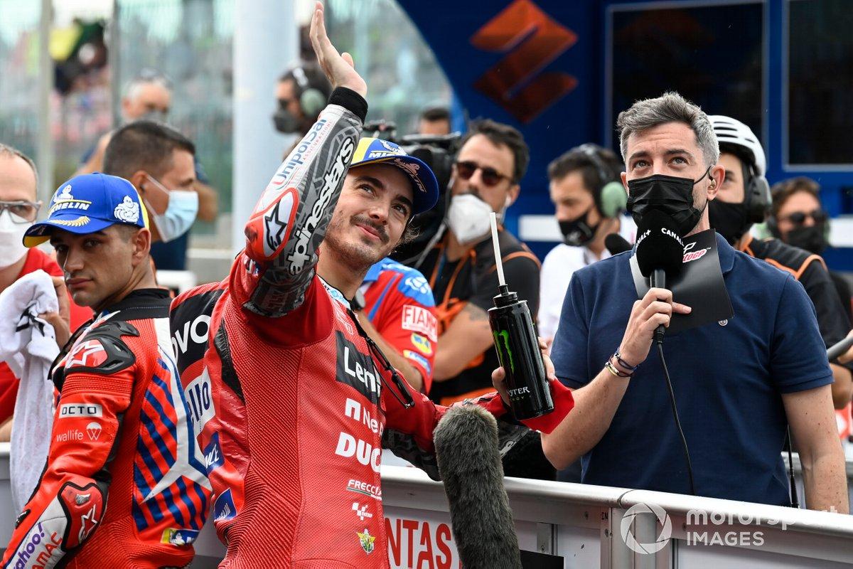 Ganador de la pole Francesco Bagnaia, Ducati Team
