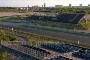 Les gradins au circuit de Zandvoort