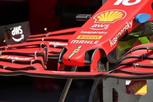 Ferrari SF21 nose and front wing detail