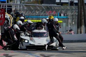 #01: Cadillac Chip Ganassi Racing Cadillac DPi, DPi: Renger van der Zande, Kevin Magnussen pit stop.