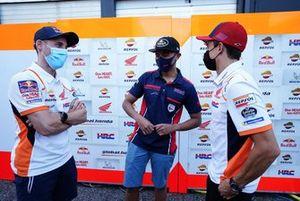 Mario Suryo Aji, Astra Honda Motor, se une a Marc Márquez, Repsol Honda, Pol Espargaró, Repsol Honda