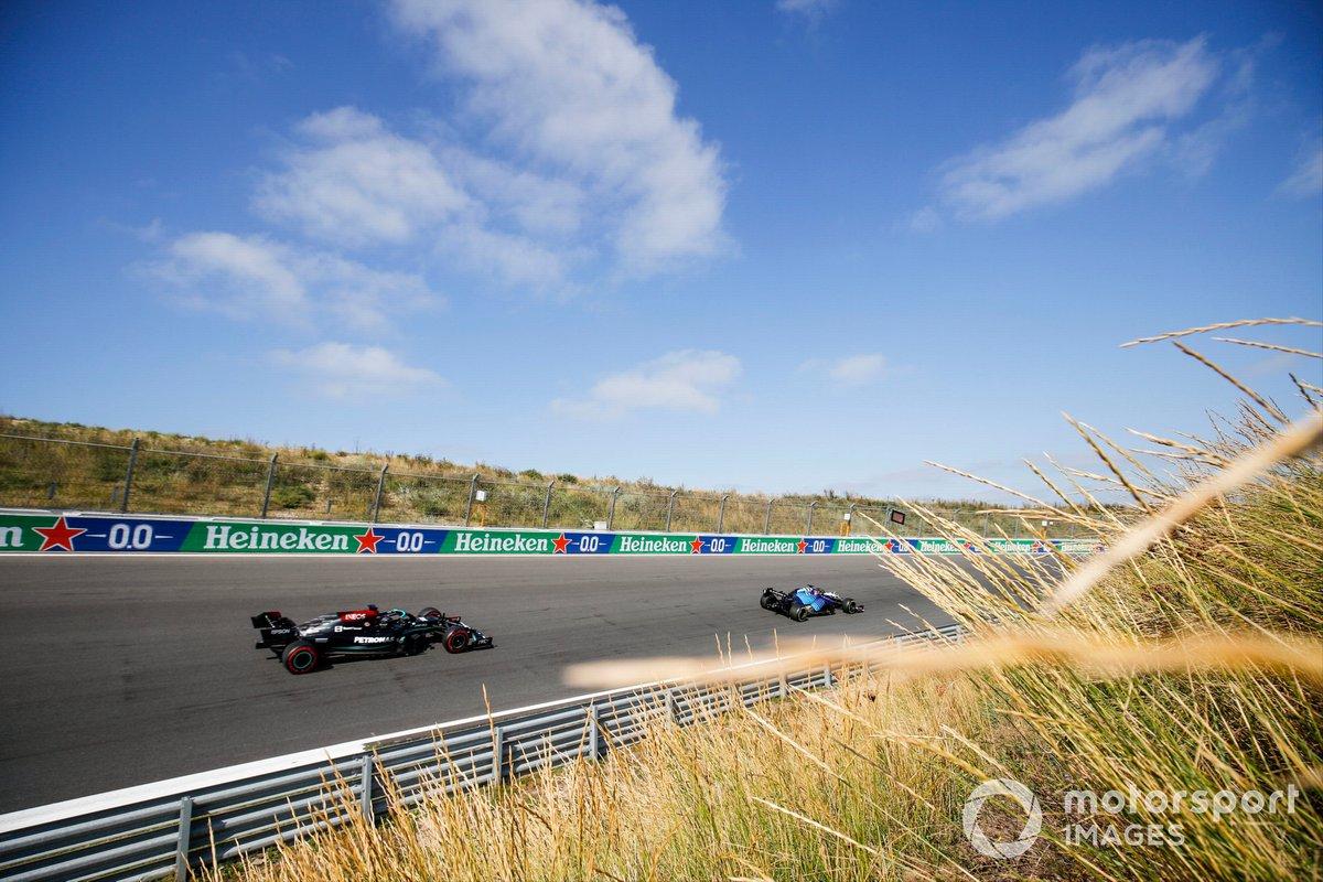 George Russell, Williams FW43B, Lewis Hamilton, Mercedes W12