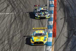 Vincent Abril, Haupt Racing Team Mercedes AMG GT3, Esteban Muth, T3-Motorsport Lamborghini Huracan Evo GT3