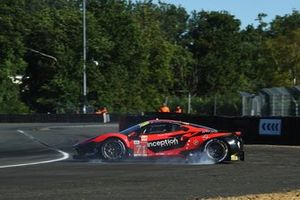 #71 Inception Racing Ferrari 488 GTE EVO LMGTE Am van Brendan Iribe, Ollie Millroy, Ben Barnicoat spint