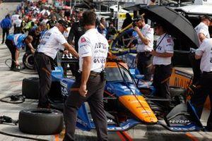 Felix Rosenqvist, Arrow McLaren SP Chevrolet, crew members