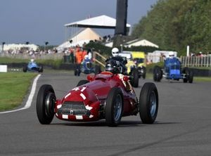 Festival de Gran Bretaña Trophy Peter Greenfield Alfa Romeo 158