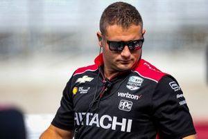 Josef Newgarden, Team Penske Chevrolet crew member