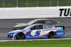 Kyle Larson, Hendrick Motorsports, Chevrolet Camaro HendrickCars.com, Ryan Preece, JTG Daugherty Racing, Chevrolet Camaro Healthy Choice Power Bowls