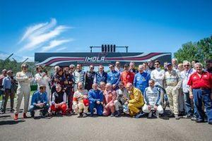 I protagonisti della quinta edizione dell'Historic Minardi Day all'Autodromo di Imola