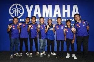 Wahyu Rusmayadi, Manajer Tim, Anggi Setiawan, M Faerozi, Galang Hendra, Wahyu Nugroho, Aldi Satya Mahendra, Yamaha Racing Indonesia