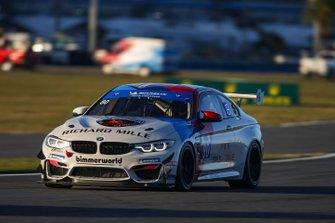#80 BimmerWorld Racing BMW M4 GT4, GS: Aurora Straus, Kaz Grala