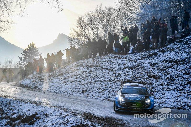 Элфин Эванс и Скотт Мартин, Ford Fiesta WRC