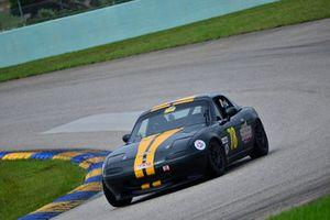 #78 MP4A Mazda Miata driven by Marcos Vento