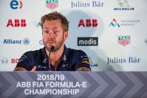 Sam Bird, Envision Virgin Racing in the press conference