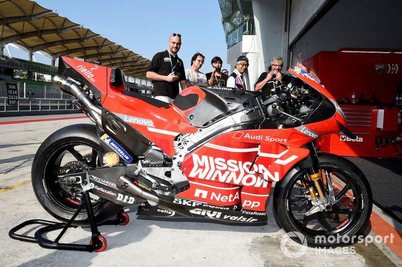 Moto del Team Ducati