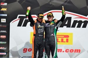 TA4 podium finishers Shane Lewis and Warren Dexter