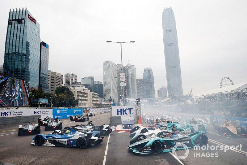 Start zum ePrix Hongkong der Formel E 2018/19