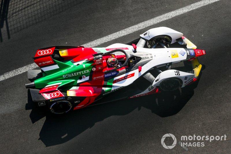 Автомобиль заводской команды Audi в Формуле Е