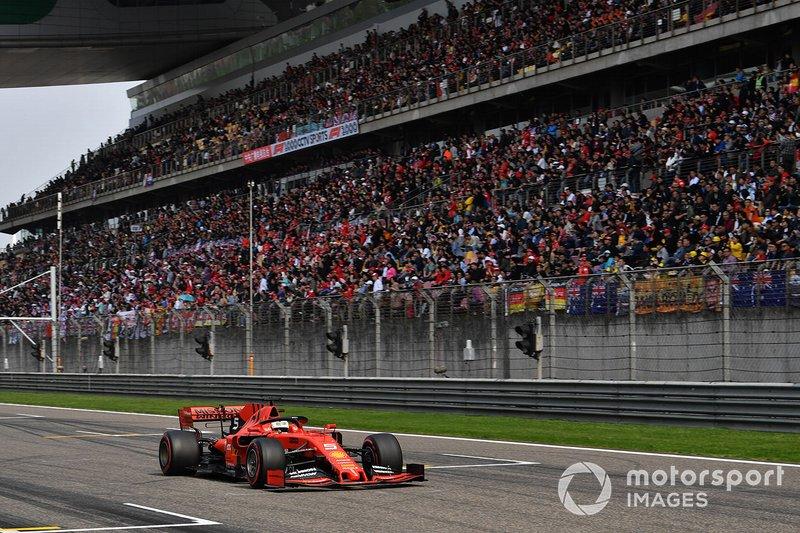 Sebastian Vettel, Ferrari SF90: 1:31:848