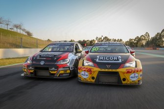 Johan Kristoffersson, SLR Volkswagen Volkswagen Golf GTI TCR, Tom Coronel, Comtoyou DHL Team CUPRA Racing CUPRA TCR