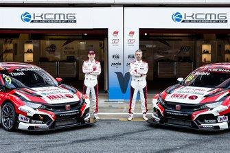 Attila Tassi, KCMG Honda Civic Type R TCR, Tiago Monteiro, KCMG Honda Civic Type R TCR
