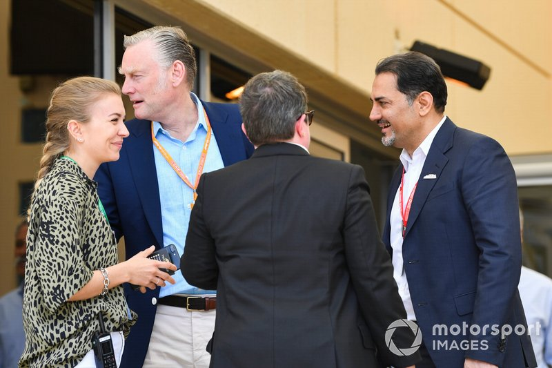 Sean Bratches, Managing Director of Commercial Operations, Formula One Group, and Arif Rahimi, Chairman, Bahrain International Circuit