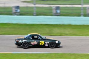 #78 MP4A Mazda Miata driven by Marcos Vento and Javier Vento of JV Racing