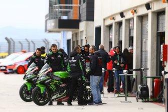 Leon Haslam, Kawasaki Racing, Jonathan Rea, Kawasaki Racing motoren