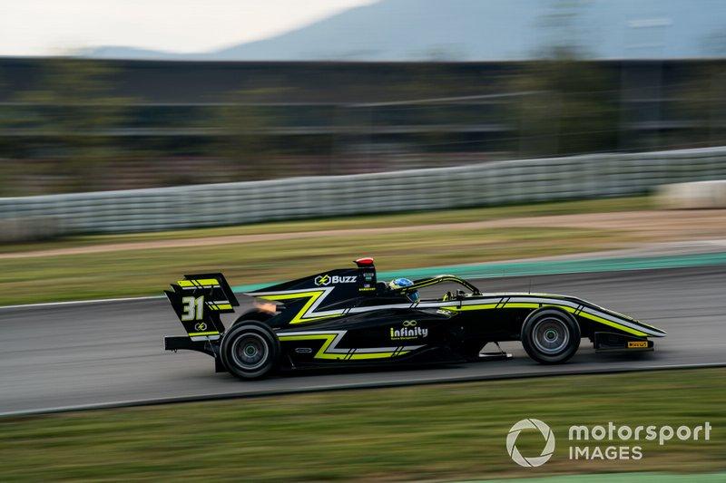 Logan Sargeant, Carlin Buzz Racing